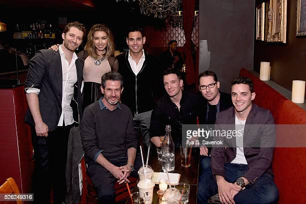 Matthew Morrison Renee Morrison Eric Podwell Simon Kinberg JC Chasez Bryan Singer and Kyle Schuneman attend Eric Podwall's exclusive cocktail...