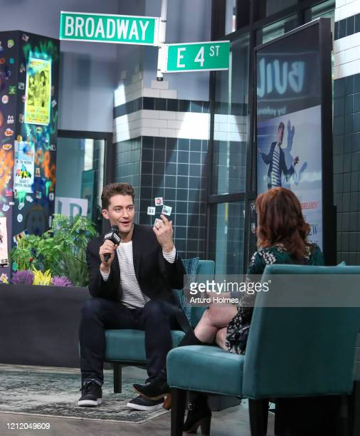 Matthew Morrison visits BUILD at Build Studio on March 12, 2020 in New York City.