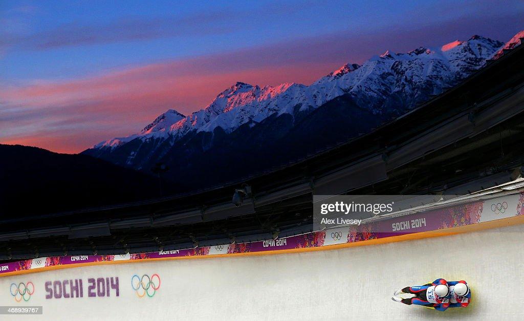 Luge - Winter Olympics Day 5 : Foto jornalística