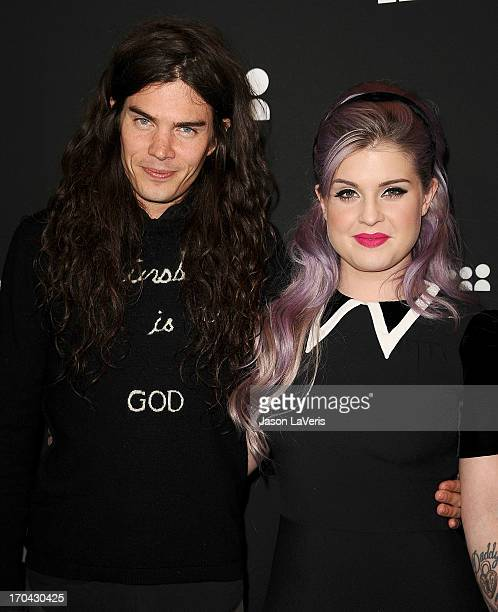 Matthew Mosshart and Kelly Osbourne attend the Myspace artist showcase event at El Rey Theatre on June 12 2013 in Los Angeles California