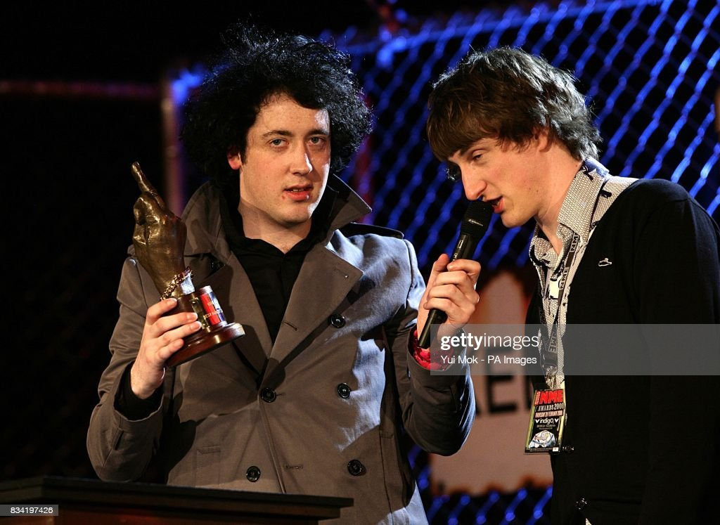 Matthew Murphy Left Of The Wombats With Award For Best Dancefloor Filler At