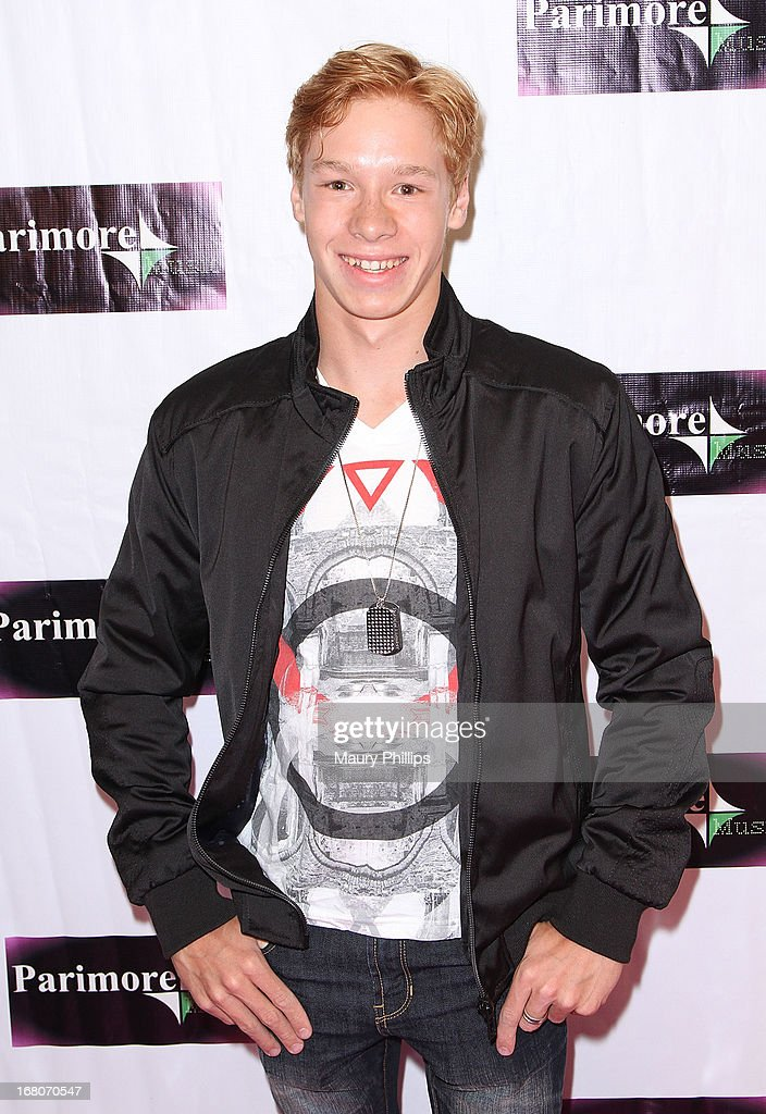 Matthew Nardozzi attends Katia Nicole's Rave Music Video release party on May 4, 2013 in Los Angeles, California.