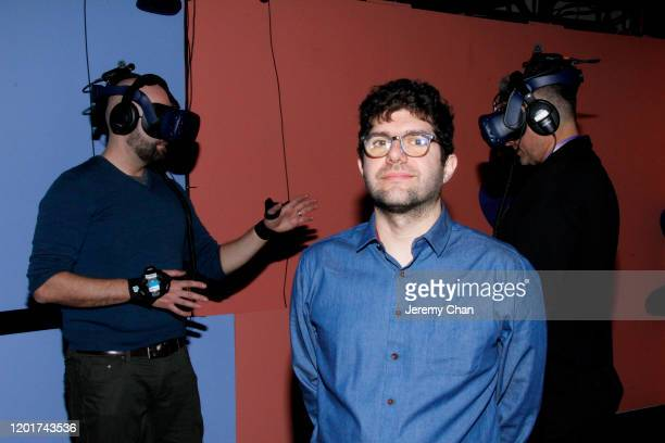 """Matthew Niederhauser of """"Metamorphic"""" attends the New Frontier Press Preview during the 2020 Sundance Film Festival at New Frontier Central on..."""