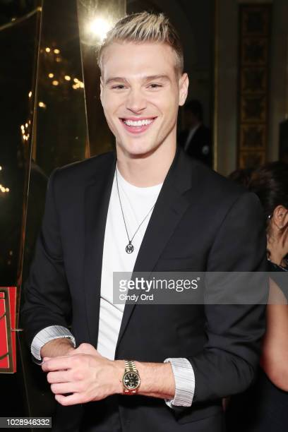 Matthew Noszka attends as Harper's BAZAAR Celebrates ICONS By Carine Roitfeld at the Plaza Hotel on September 7 2018 in New York City