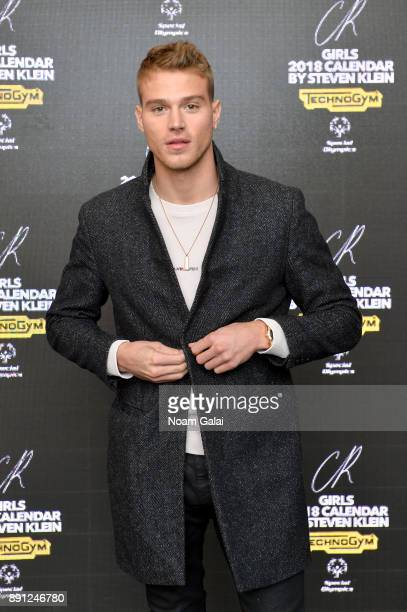 Matthew Noszka attends the CR Fashion Book Celebrating launch of CR Girls 2018 with Technogym at Spring Place on December 12 2017 in New York City