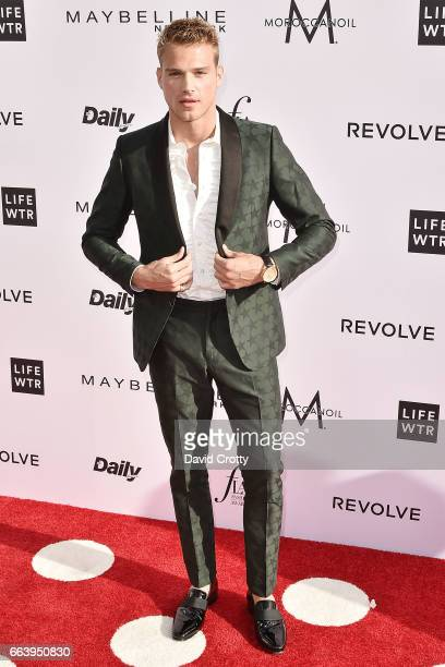 Matthew Noszka attends the Daily Front Row's 3rd Annual Fashion Los Angeles Awards Arrivals at Sunset Tower Hotel on April 2 2017 in West Hollywood...