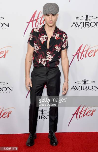 Matthew Noszka attends the Los Angeles Premiere Of Aviron Pictures' After at The Grove on April 8 2019 in Los Angeles California