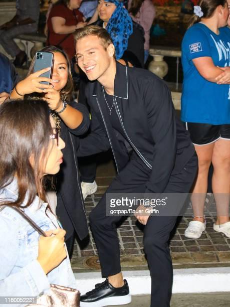 Matthew Noszka is seen on November 04, 2019 in Los Angeles, California.