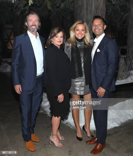 Matthew Orr Ann Walton Kroenke Erica Zohar and Lior Zohar attend Gaggenau Restaurant 1683 Honoring Operation Smile on May 23 2018 in Los Angeles...
