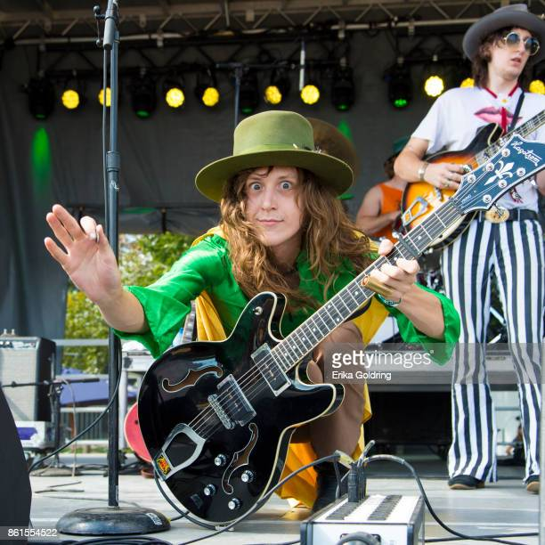 Matthew Paige and Dylan Whitlow of Blackfoot Gypsies perform during Austin City Limits Festival at Zilker Park on October 14 2017 in Austin Texas