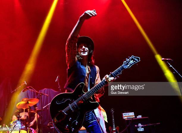 Matthew Paige of Blackfoot Gypsies performs on stage at the Eventim Apollo on December 10 2017 in London England