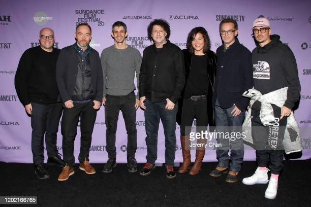 Matthew Perniciaro Lance Acord Gregory Kershaw Michael Dweck Jackie Kelman Sam Bisbee and Michael Sherman attend the 2020 Sundance Film Festival The...