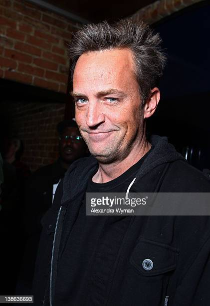 Matthew Perry at HBO's series 'Eastbound And Down' season 3 premiere held at cinespace on February 9 2012 in Hollywood California