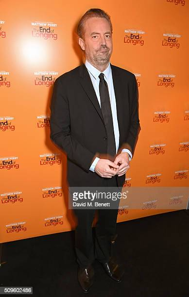 Matthew Perry attends an after party celebrating the World Premiere of 'The End Of Longing' written by and starring Matthew Perry on February 11 2016...