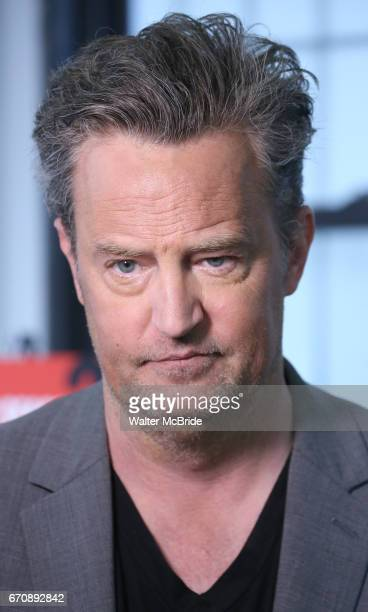 Matthew Perry attends 'The End Of Longing' cast photocall at Roundabout Rehearsal Studio on April 20 2017 in New York City