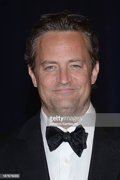 Matthew Perry attends the White House Correspondents' Association Dinner at the Washington Hilton on April 27 2013 in Washington DC