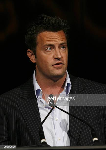 Matthew Perry during AFI Honors Hollywood's Arquette Family With The Sixth Annual 'Platinum Circle Awards' Green Room and Show in Los Angeles...
