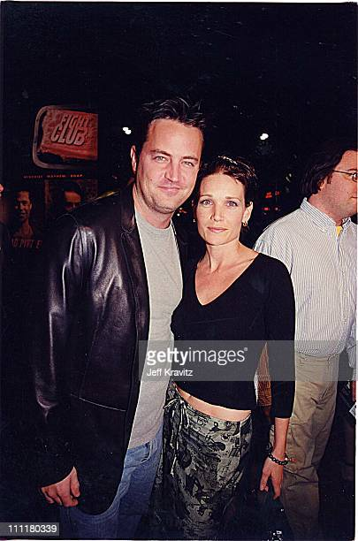 Matthew Perry during Fight Club Premiere in Los Angeles California United States