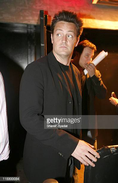 Matthew Perry during Gotham Magazine Party May 16 2006 at Stereo in New York City New York United States