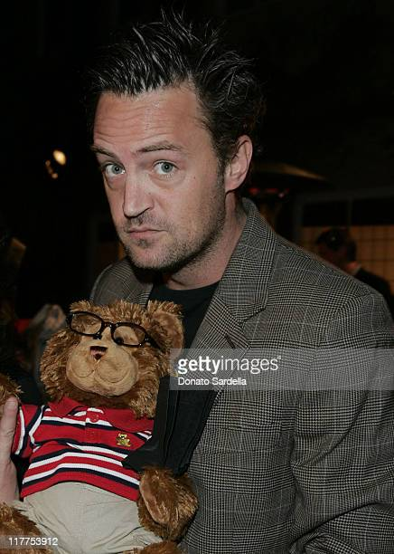 Matthew Perry during Stars Make Their Voices Heard at a Silent Auction for Lollipop Theater Network at Private Home in Beverly Hills California...