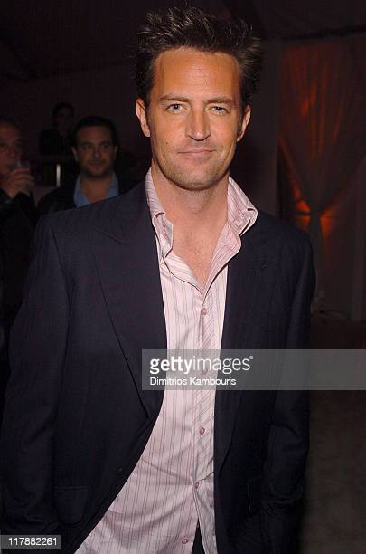 Matthew Perry during TEN GM Rocks Award Season With Cars Stars and Fashion Inside at Sunset and Vine in Hollywood California United States