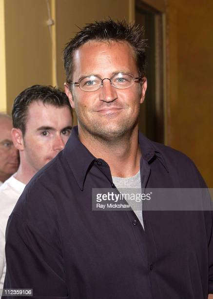 Matthew Perry during 'The Guys' Opening Night Benefit Performance at The Actors' Gang Theater in Hollywood California United States