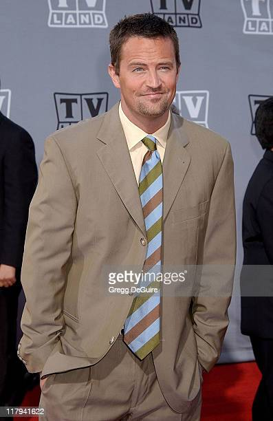 Matthew Perry during TV Land Awards: A Celebration of Classic TV - Arrivals at Hollywood Palladium in Hollywood, California, United States.