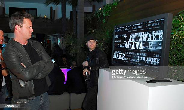 Matthew Perry during Xbox 360 E3 Party at Roosevelt Hotel in Hollywood California United States