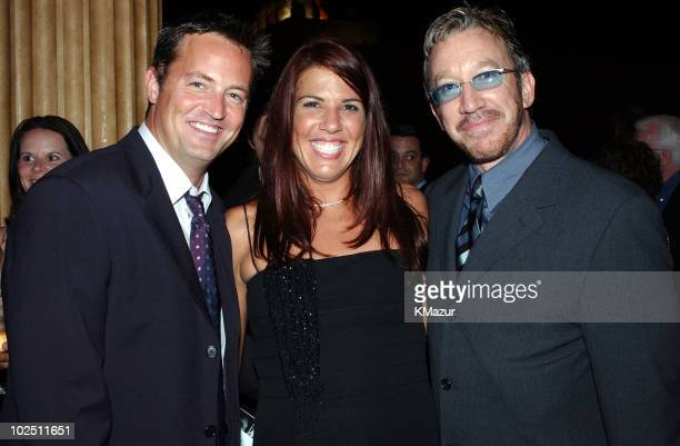 Matthew Perry Jennifer Capriati and Tim Allen