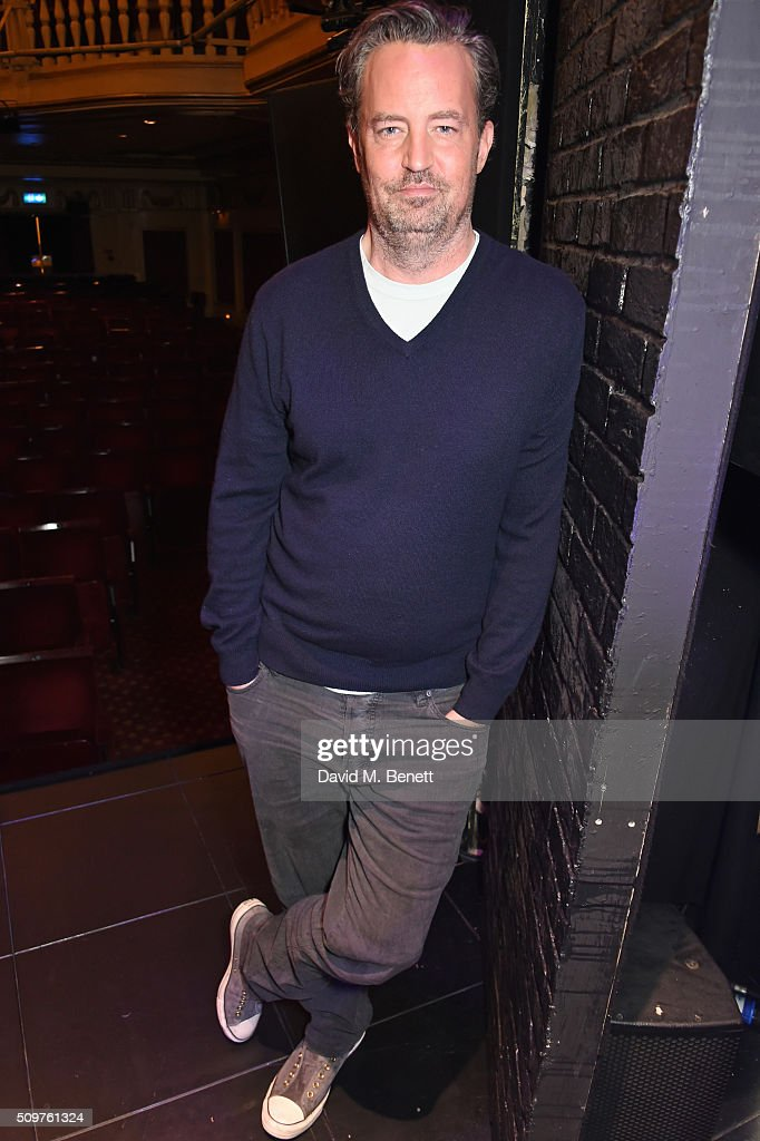"""Matthew Perry's """"The End Of Longing"""" - Photocall"""