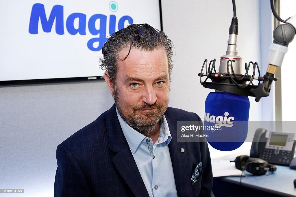Matthew Perry Visits Bauer Radio
