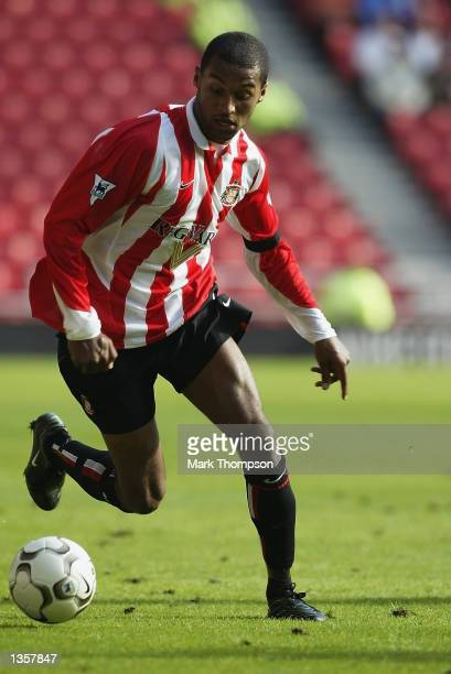 Matthew Piper of Sunderland in action during the FA Barclaycard Premiership match between Sunderland and Everton at The Stadium of Light Sunderland...