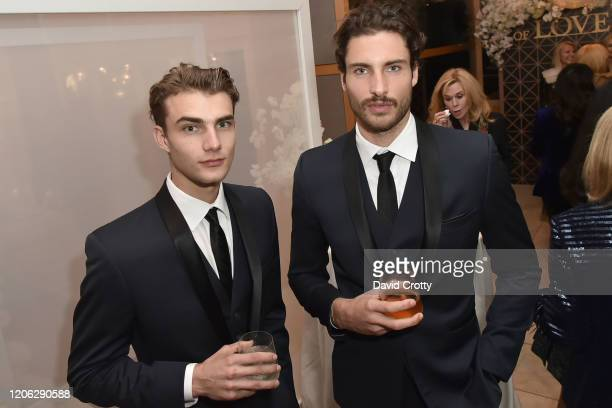 Matthew Pollock and Christoph Leitner attend Of Love And Rage Premiere Dinner Hosted By Elizabeth Segerstrom at Leatherby's Cafe Rouge on March 7...