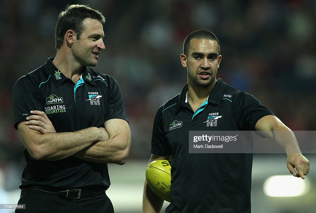 AFL Rd 17 - Melbourne v Port Adelaide
