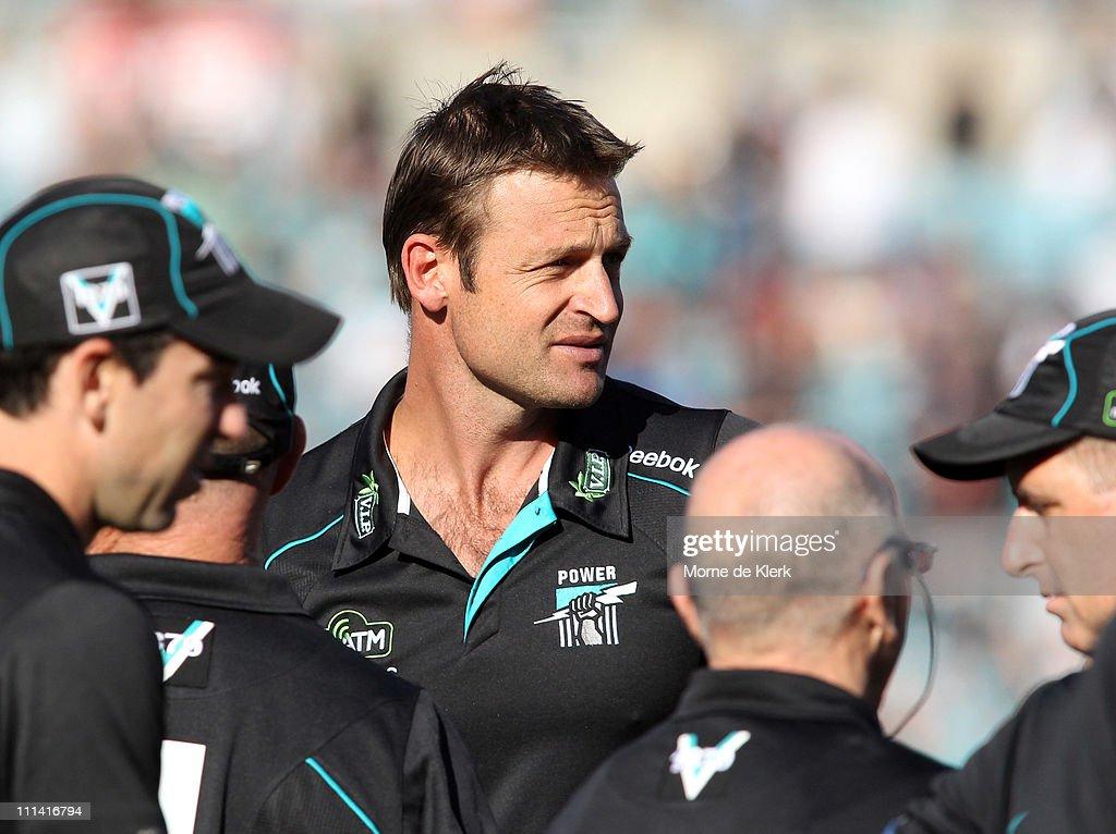 AFL Rd 2 - Port Adelaide v West Coast