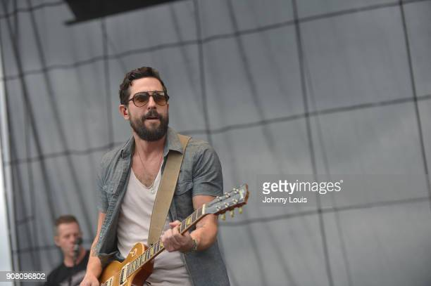 Matthew Ramsay of Old Dominion performs onstage at the 33rd Annual Kiss 999 Chili Cookoff at CB Smith Park on January 20 2018 in Pembroke Pines...