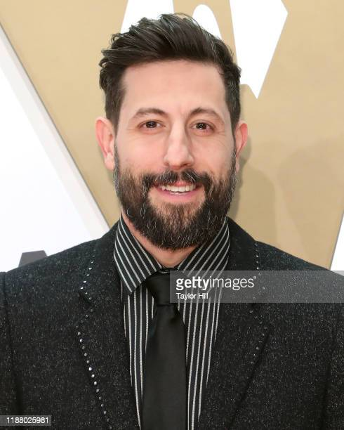 Matthew Ramsey attends the 53nd annual CMA Awards at Bridgestone Arena on November 13 2019 in Nashville Tennessee