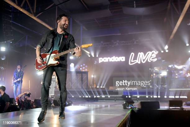 Matthew Ramsey of musical group Old Dominion performs onstage during Pandora Live at Marathon Music Works on November 25 2019 in Nashville Tennessee