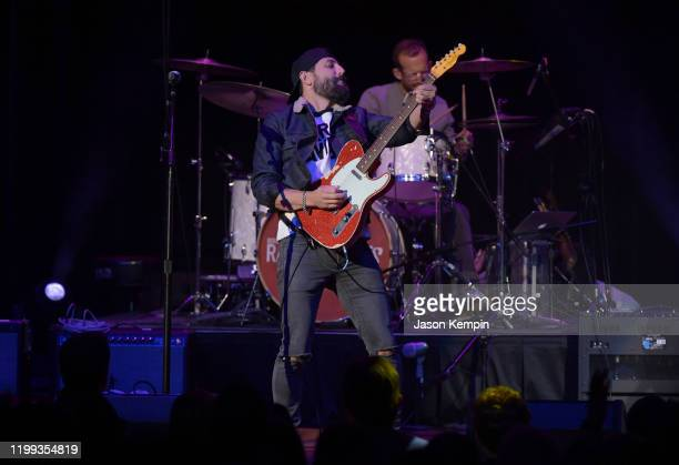Matthew Ramsey of Old Dominion perform at the Bobby Bones The Raging Idiots' 5th Annual Million Dollar Show at Ryman Auditorium on January 13 2020 in...