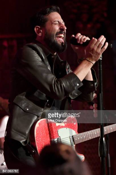 Matthew Ramsey of Old Dominion performs a private concert for SiriusXM at The Cutting Room airing live on SiriusXM on August 31 2017 in New York City