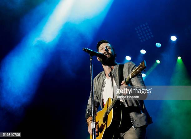 Matthew Ramsey of Old Dominion performs at Country Thunder Arizona 2016 at Country Thunder West on April 7 2016 in Florence Arizona