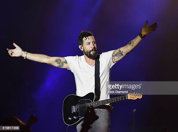 Matthew Ramsey of Old Dominion performs at County Thunder Music Festivals Arizona Day 1 on April 7 2016 in Florence Arizona