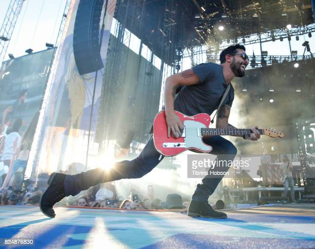 Matthew Ramsey of Old Dominion performs at the 2017 Watershed Music Festival at Gorge Amphitheatre on July 30 2017 in George Washington
