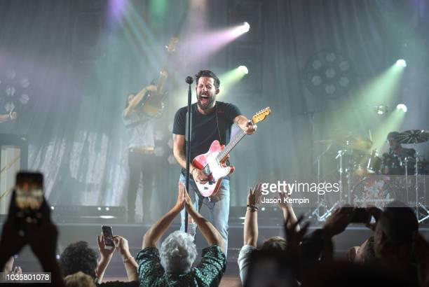 Matthew Ramsey of Old Dominion performs at the Ryman Auditorium on September 18 2018 in Nashville Tennessee