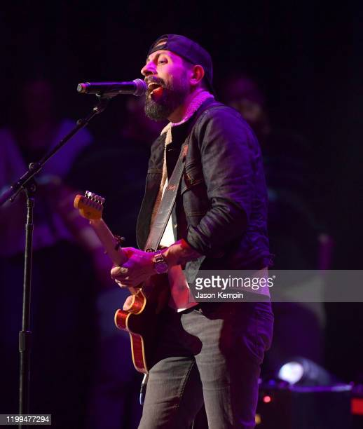 Matthew Ramsey of Old Dominion performs at the Ryman Auditorium on January 13 2020 in Nashville Tennessee