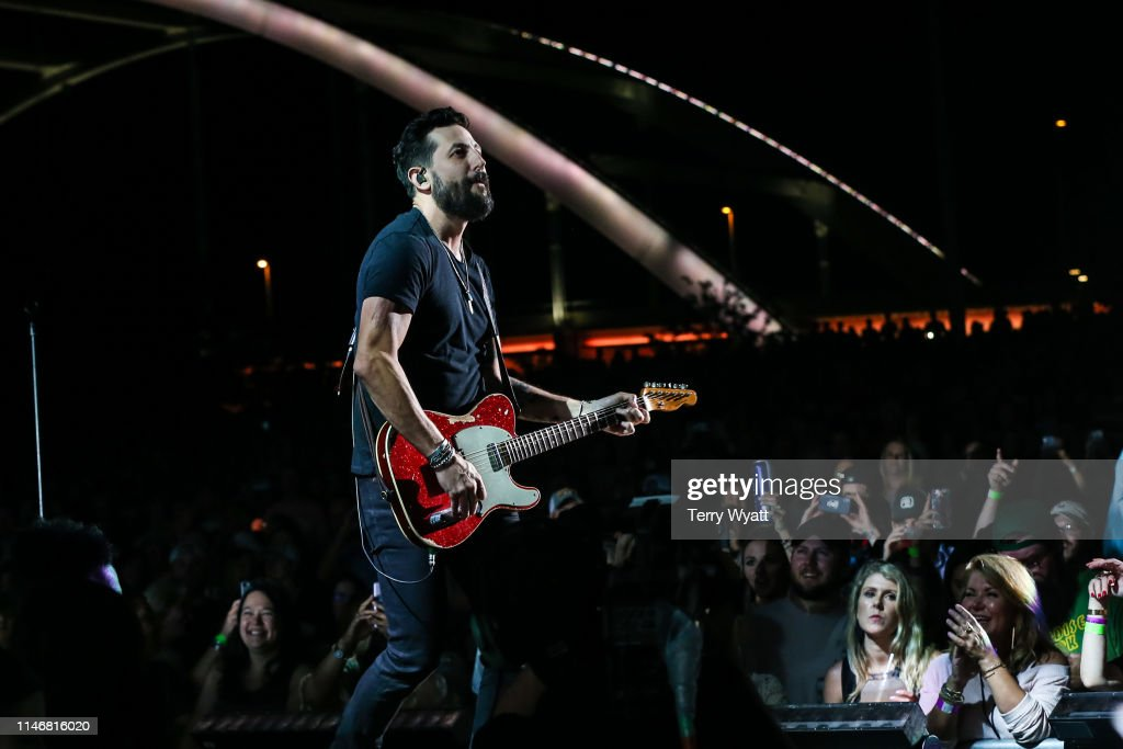 Matthew Ramsey of Old Dominion performs during the Make It