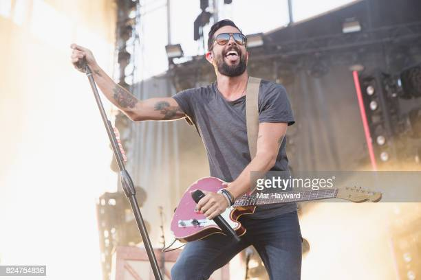 Matthew Ramsey of Old Dominion performs during the Watershed Country Music Festival at the Gorge Amphitheatre on July 30 2017 in George Washington