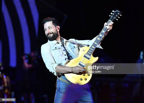 Matthew Ramsey of Old Dominion performs in concert at MercedesBenz Stadium on May 26 2018 in Atlanta Georgia