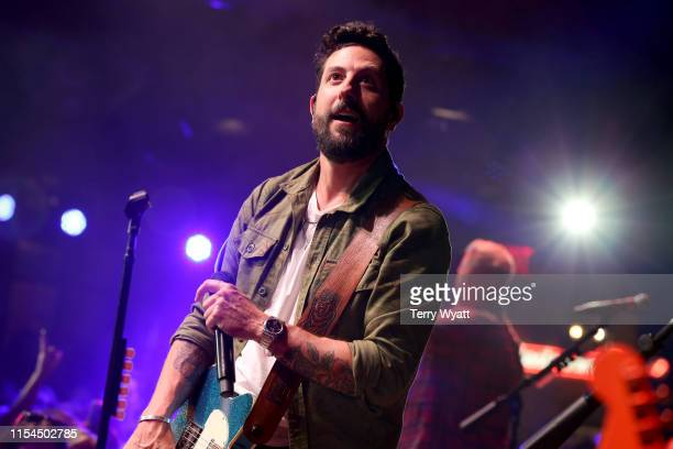 Matthew Ramsey of Old Dominion performs onstage at Spotify House during CMA Fest at Ole Red on June 07 2019 in Nashville Tennessee