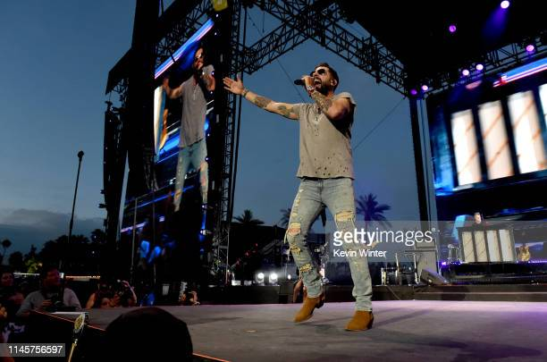 Matthew Ramsey of Old Dominion performs onstage during the 2019 Stagecoach Festival at Empire Polo Field on April 28 2019 in Indio California